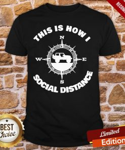 Official Social Distance Jeeping Off Road Shirt- Design By Proposetees.com