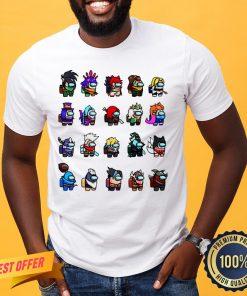 Original Among Us x League Of Legends Games Shirt- Design By Proposetees.com