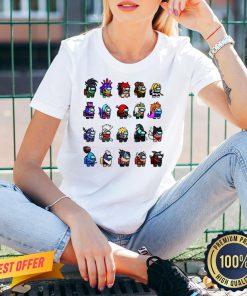Original Among Us x League Of Legends Games V-neck- Design By Proposetees.com