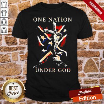 Original One Nation Under God Shirt- Design By Proposetees.com