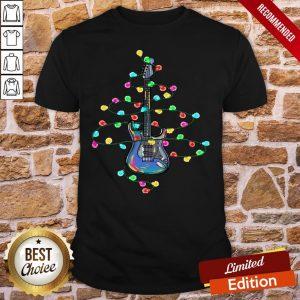 Perfect Guitar Christmas Light Shirt - Design By Proposetees.com