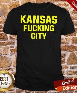 Premium Kansas Fucking City Shirt- Design By Proposetees.com