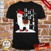 Pretty Fa La La Llama Santa Christmas Shirt- Design By Proposetees.com