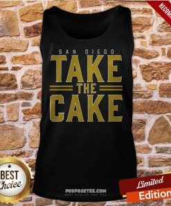 San Diego Take The Cake Tank-Top- Design By Proposetees.com