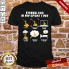Top Things I Do In My Spare Time Fishing Watch People Fishing Research Fishing Shirt- Design By Proposetees.com