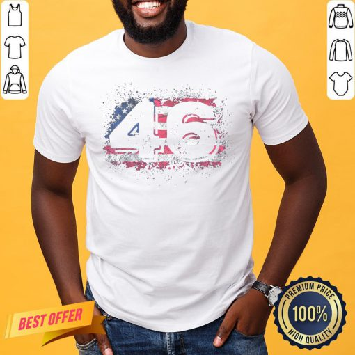 Awesome Biden 46 Elected Celebrate Joe Biden 46th President 2020 Shirt- Design By Proposetees.com