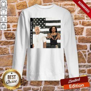 Funny Biden Harris Outkast Stankonia American Flag Sweatshirt- Design By Proposetees.com