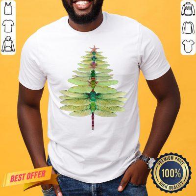 Funny Christmas Tree Print Shirt- Design By Proposetees.com