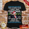 Funny Donald Trump This Is Going To Be A Great Christmas Very Festive Very Fun Believe Me Ugly Shirt-Design By Proposetees.com