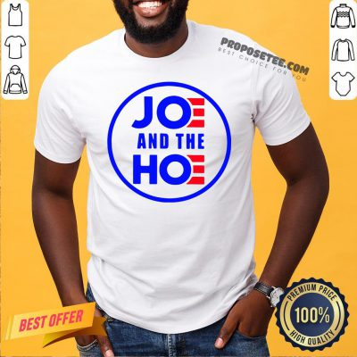 Funny Joe And The Hoe Shirt- Design By Proposetees.com
