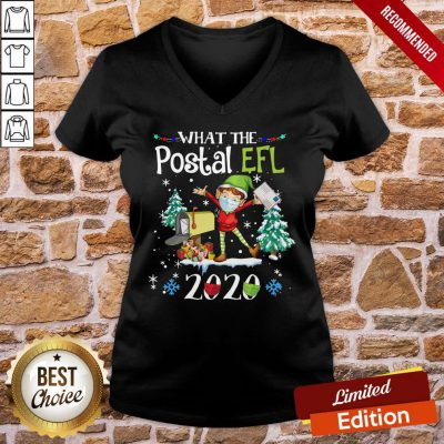 Funny What The Postal Worker Christmas Elf 2020 Sweat Shirtostal Worker Christmas Elf 2020 Sweat V-neck- Design By Proposetees.com