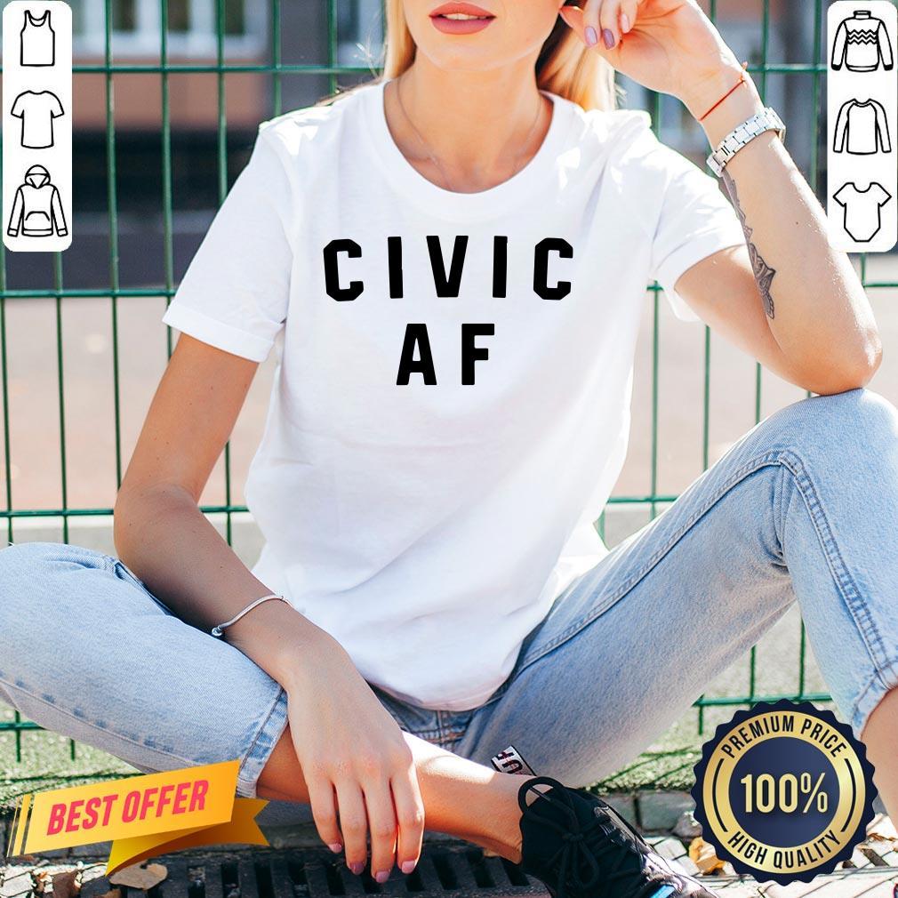 Good Civic AF 2020 V-neck- Design By Proposetees.com
