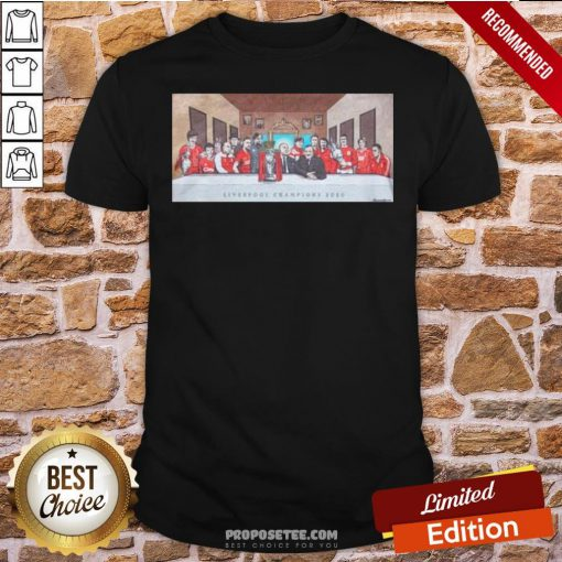 Good Liverpool Last Supper Shirt- Design By Proposetees.com