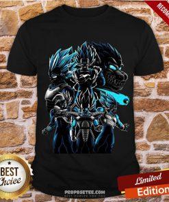 Happy Vegeta Super Saiyan Shirt-Design By Proposetees.com