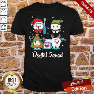Original Dental Squad Tooth Dental Assistant Christmas Shirt- Design By Proposetees.com