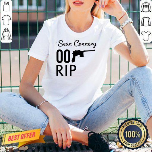 Original Rip 007 James Bond Sean Connery 1930-2020 V-neck- Design By Proposetees.com