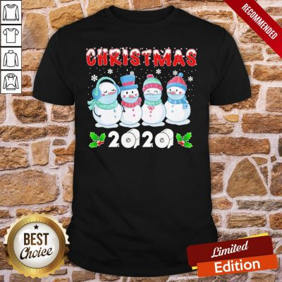 Original Snowman Face Make Christmas 2020 Shirt- Design By Proposetees.com