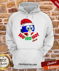 Original Tiffany Christmas Santa Enrique Ho Ho Ho! Hoodie-Design By Proposetees.com