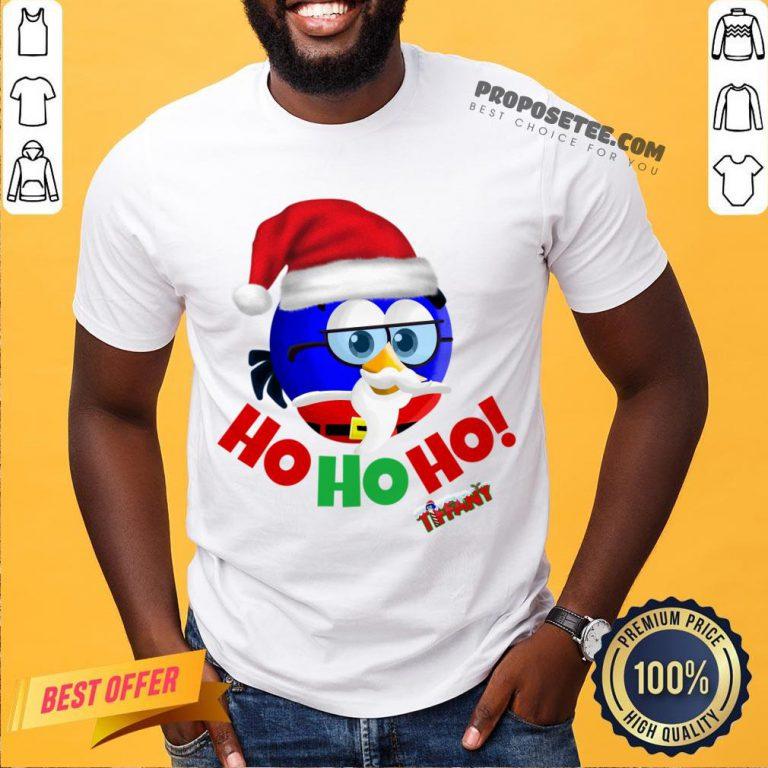 Original Tiffany Christmas Santa Enrique Ho Ho Ho! Shirt-Design By Proposetees.com