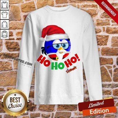 Original Tiffany Christmas Santa Enrique Ho Ho Ho! Sweatshirt-Design By Proposetees.com