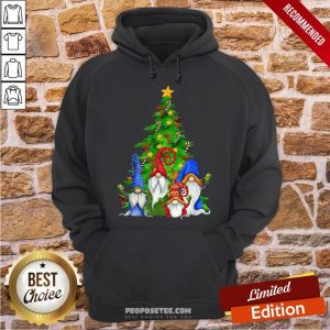 Perfect Gnomes Christmas Tree Hoodie-Design By Proposetees.com