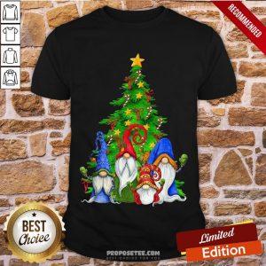 Perfect Gnomes Christmas Tree Shirt-Design By Proposetees.com