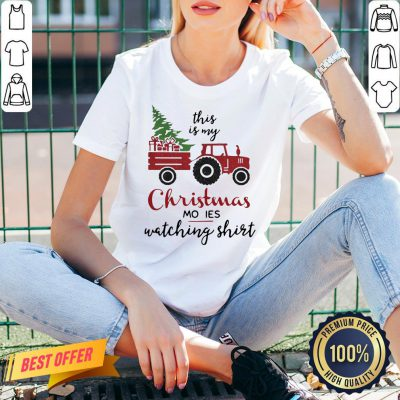 Perfect Truck This Is My Christmas Movies Watching V-neck- Design By Proposetees.com