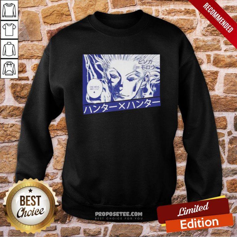 Premium Hisoka X Gon One More And I Cut Sweatshirt- Design By Proposetees.com