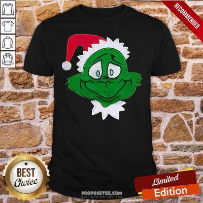 Premium The Grinch Santa Christmas Shirt- Design By Proposetees.com