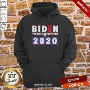 Joe Biden The Only Bright Spot In 2020 President Hoodie-Design By Proposetees.com