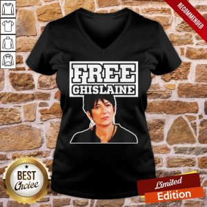 Top Free Ghislaine Maxwell V-neck- Design By Proposetees.com
