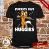 Top Furries Gives Huggies Hugging Furry Fandom Shirt- Design By Proposetees.com