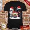 Baby Yoda And Darth Vader Stormtrooper Merry Christmas Sweater Shirt-Design By Proposetees.com