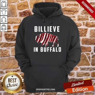 Believe In Buffalo Hoodie-Design By Proposetees.com