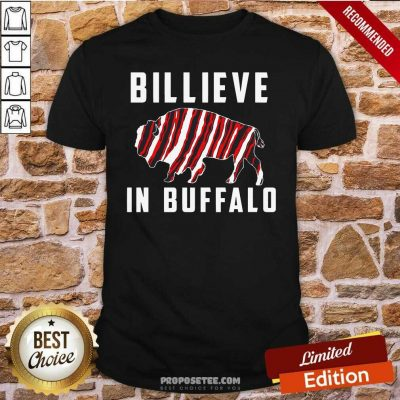 Believe In Buffalo Shirt-Design By Proposetees.com