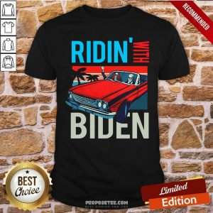 Car Riding With Biden Kamala Harris Joe Biden Vintage Retro Shirt-Design By Proposetees.com