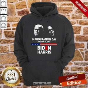 Inauguration Day January 20 2021 Biden Harris American Flag Hoodie-Design By Proposetees.com