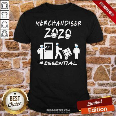 Merchandiser 2020 Essential Coronavirus Shirt-Design By Proposetees.com