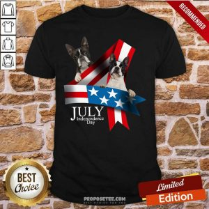 American Flag French Bulldog 4 Of July Independence Day Shirt-Design By Proposetees.com