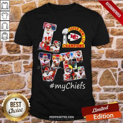 Love Kansas City Chiefs Shirt-Design By Proposetees.com