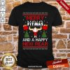 Merry Fitmas And A Happy New Rear Gym Xmas Ugly Shirt-Design By Proposetees.com