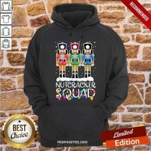 Nutcracker Squad Merry Christmas Hoodie-Design By Proposetees.com
