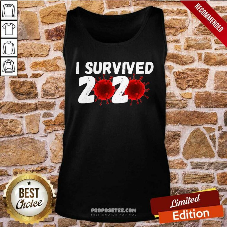 I Survived 2020 Coronavirus Tank Top-Design By Proposetees.com