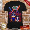Charlie Brown And Snoopy Florida Gators City By Night Shirt-Design By Proposetees.com