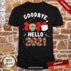 Goodbye 2020 Toilet Paper Santa Hello 2021 Shirt-Design By Proposetees.com