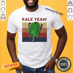 Kale Yeah Vintage Shirt-Design By Proposetees.com