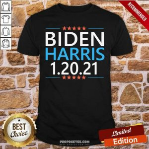 Biden Harris President Inauguration Day 2021 Shirt-Design By Proposetees.com