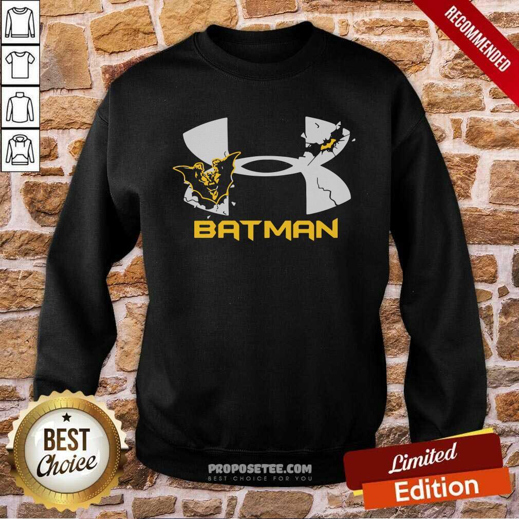 Nder Armour Batman Sweatshirt-Design By Proposetees.com