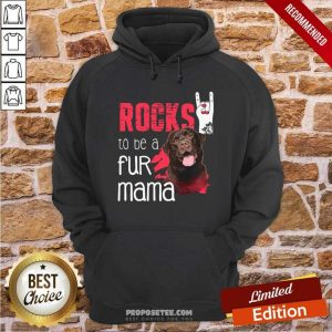 Guard Dog Rocks To Be A Fur Mama Hoodie-Design By Proposetees.com