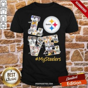 Love Pittsburgh Steelers #Mysteelers Signatures Shirt-Design By Proposetees.com